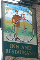 Penny Farthing pub sign