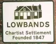 Lowbands road sign