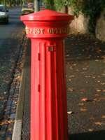 Doric pillar box, Worcester Rd