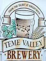 Teme Valley Brewery sign