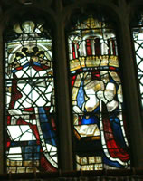 Stained glass, Little Malvern